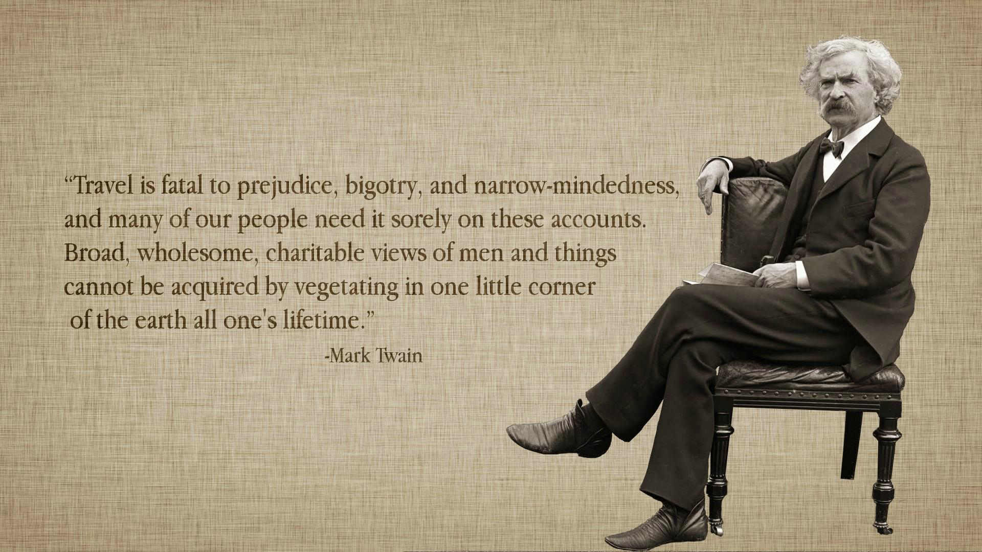 Mark Twain Quotes: The #1 Strategy For Overcoming Cultural Differences