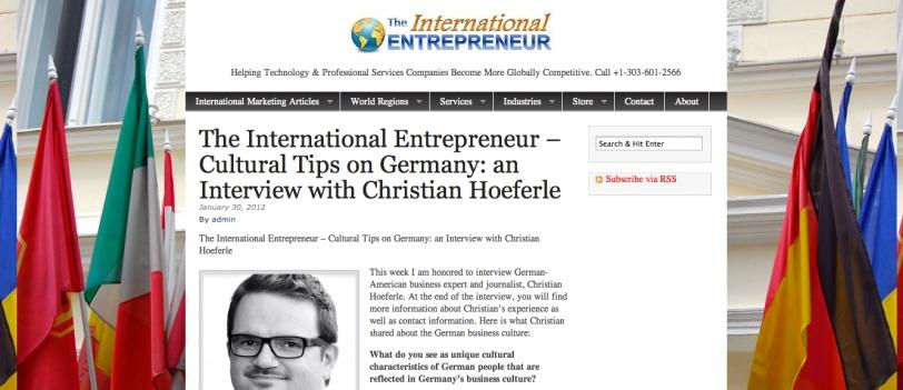 TheInternationalEntrepreneur