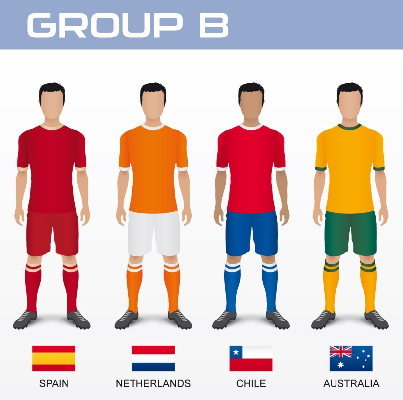 2014-World-Cup-Group-B-Spain-Netherlands-Chile-Australia